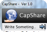 CapShare - screen capture tool