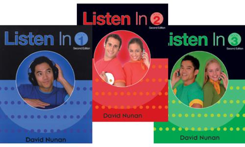 learning english, listening, english book, Listen In