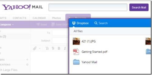 tech tips, yahoo mail, dropbox
