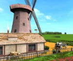 Windmill 3D Screensaver 3