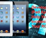 The application development process on iPad is very much similar to the iPhone application development in the market.