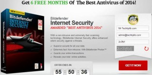 6 months Bitdefender IS 2014-majorgeek-[Giveaway] FREE Bitdefender Internet Security 2014