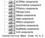 These components are tested on x64. Standard Codecs and Standard x64Components also available for downloading now.