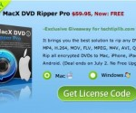 Unlimited license keys of MacX DVD Ripper Pro for Mac & PC