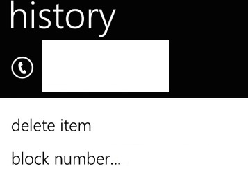Block or Unblock Calls and SMS in Windows Phone 8 2