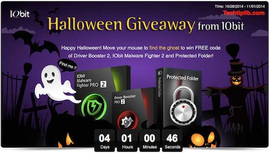IObit Halloween Giveaway