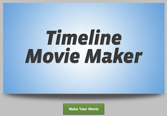 How to turn your Facebook Timeline into a movie 1