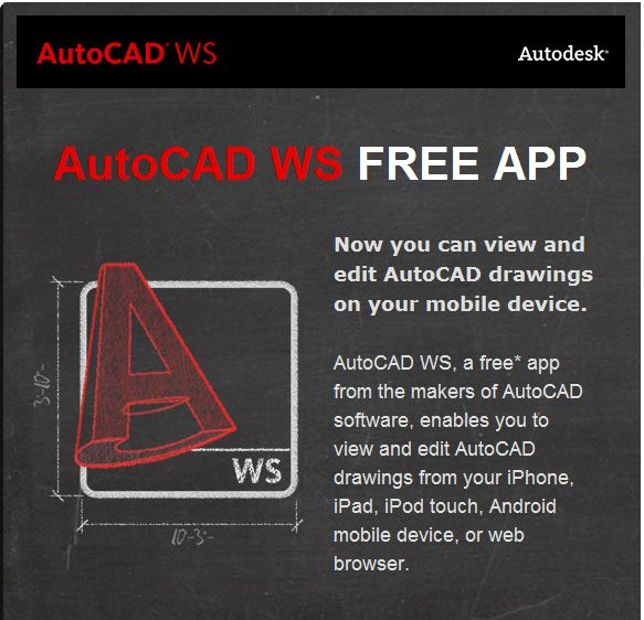 free AutoCAD on Your iPhone