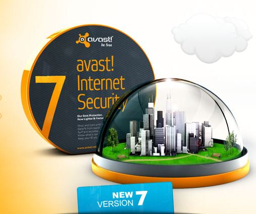 Avast Free Antivirus 7, Pro Antivirus 7 & Internet Security 7