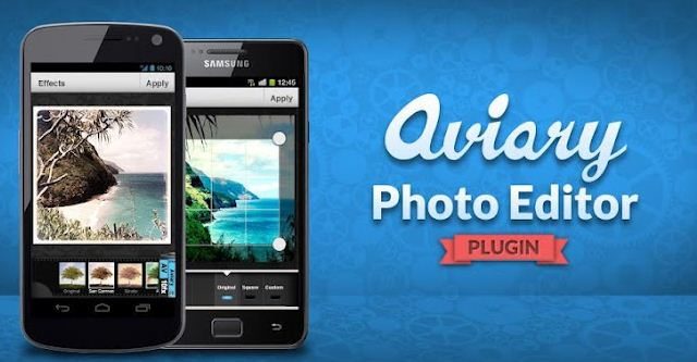 Aviary Photo Editor Plugin for Android