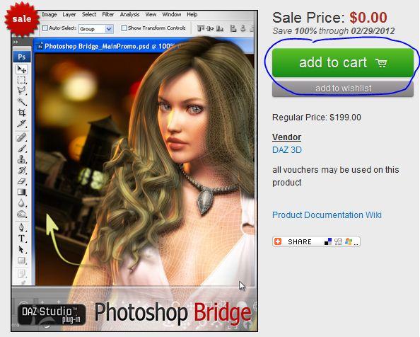 Free 3D Photoshop Bridge for MAC and Windows