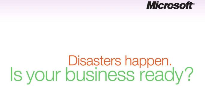 Free ebook:  Microsoft Outlines Disaster Preparedness Strategy