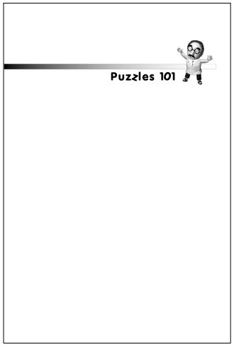Puzzles 101-Free download eBook IQ Tests – Part 4