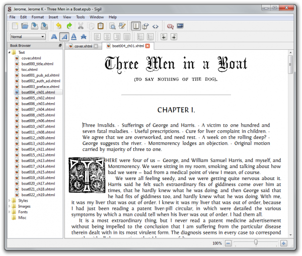 Create Your Epub Ebooks with Sigil Ebook Editor