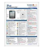 Apple iPad – Get the Free Quick Reference Card
