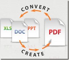 Convert a PDF to a Microsoft Office PDF, DOC or XLS File