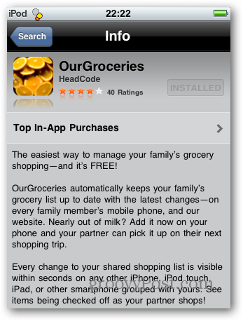 Sync Grocery Lists Between iPhone, Android and BlackBerry Smartphones