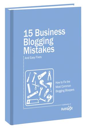download 15 Business Blogging Mistakes & Easy Fixes