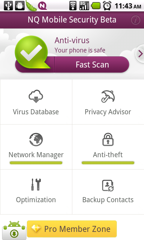 Free NQ Mobile Security for Android