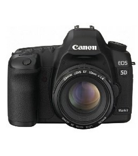coupon of Canon EOS 5D Mark II