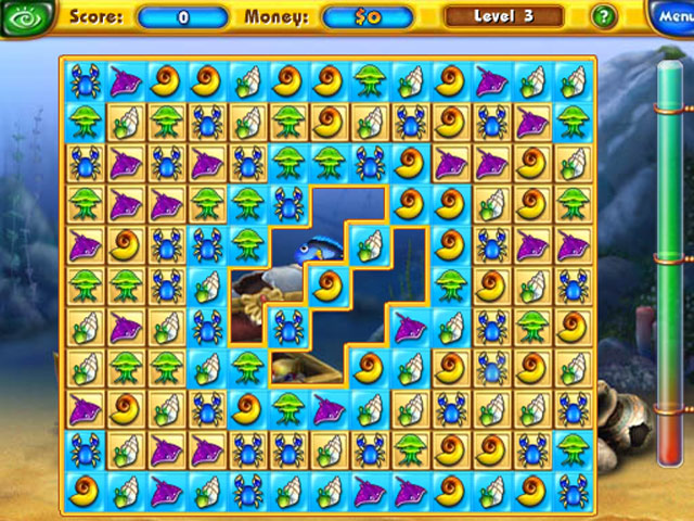 Online Flash Game Fishdom