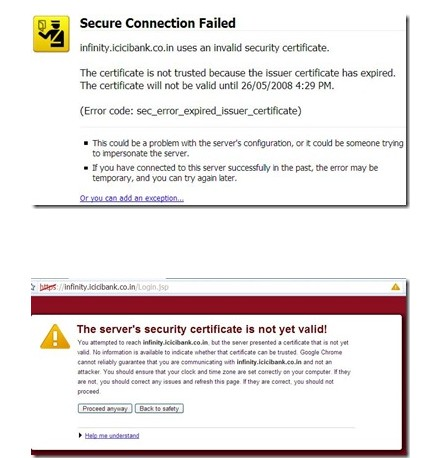 How to Correct a Microsoft Certificate Error