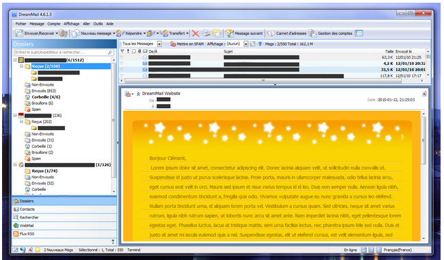 DreamMail - email client software