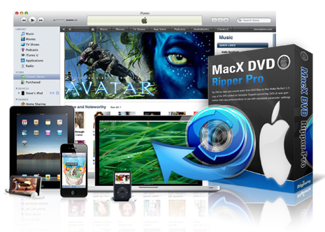 giveaway of MacX DVD Ripper Pro Streamer Edition