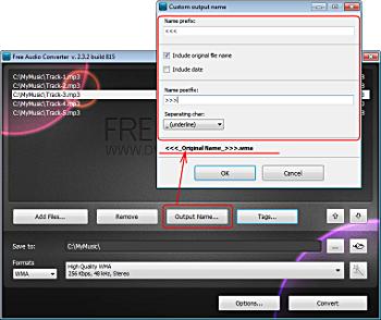 step 2 - use Free Audio Converter 32
