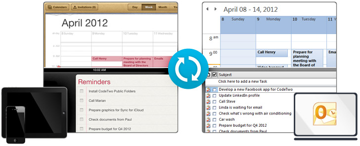 Sync outlook 4