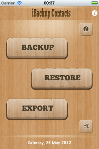iBackup Contacts 1