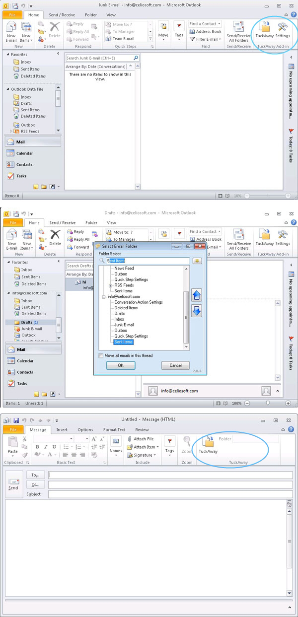 Organize Outlook