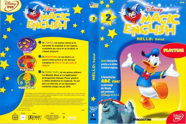 Disney magic English