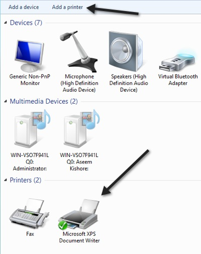 Add a Printer 6