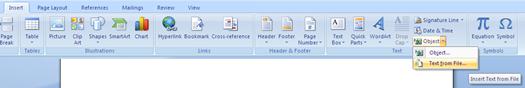 insert pdf file, MS Word, office, tech tips