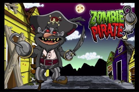 A Zombie Pirate HD, free apps, free game, iOS game, iPhone, iPad, iPod touch