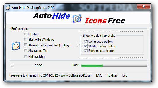 freeware, hide icons, utilities