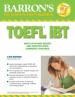 Barron's, learning english, TOEFL iBT, 13th Edition