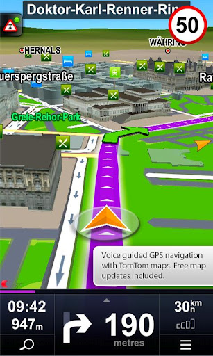 GPS Navigation, Sygic, free apps, android apps, maps, Google maps