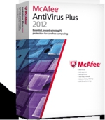 McAfee Antivirus Plus 2012, antivirus, giveaway, virus, spam, spyware