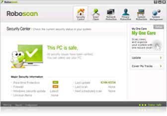 Roboscan Internet Security, freewares, antivirus