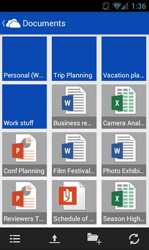 free apps, android apps, mobile apps, SkyDrive, Android