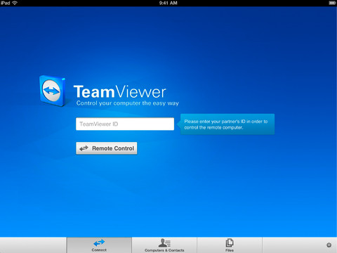 TeamViewer, remote Windows, remote MAC, remote Linux, free apps, free iOS apps