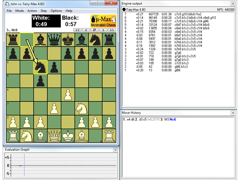 Free download WinBoard Portable - advanced chess engine