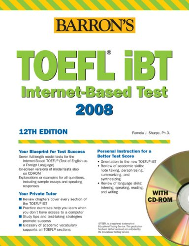 Barron's, learning english, TOEFL iBT
