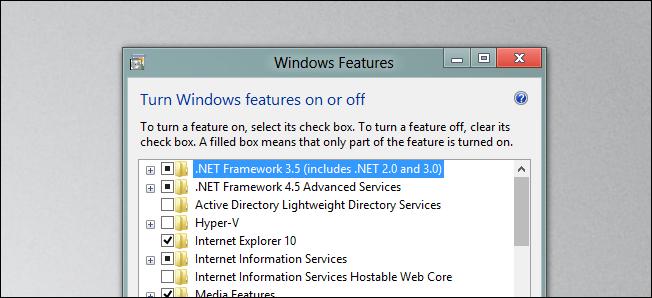 net Framework, tech tips, windows 8, install old net framework