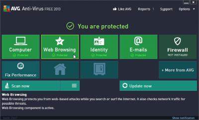 freeware, antivirus, AVG