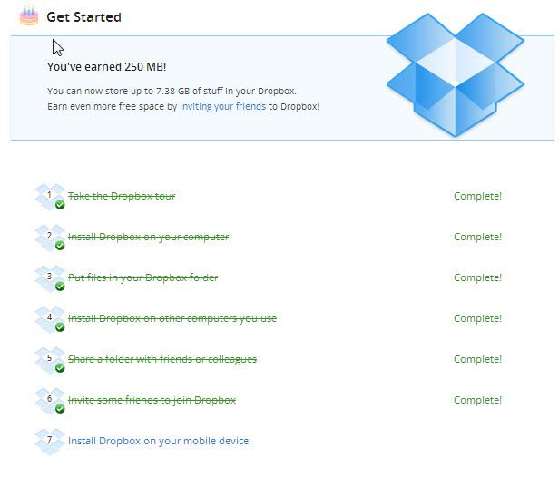 dropbox space, tech tips, tips, internet, cloud storage