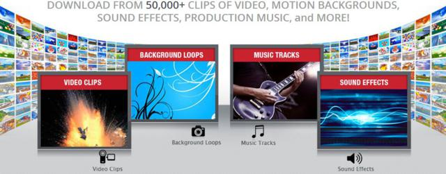 Giveaway] Free download 50,000 clips of video, motion