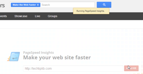 PageSpeed Insights, tech tips, tips, website speed up, web master, website optimize, website Analyze, web master tool